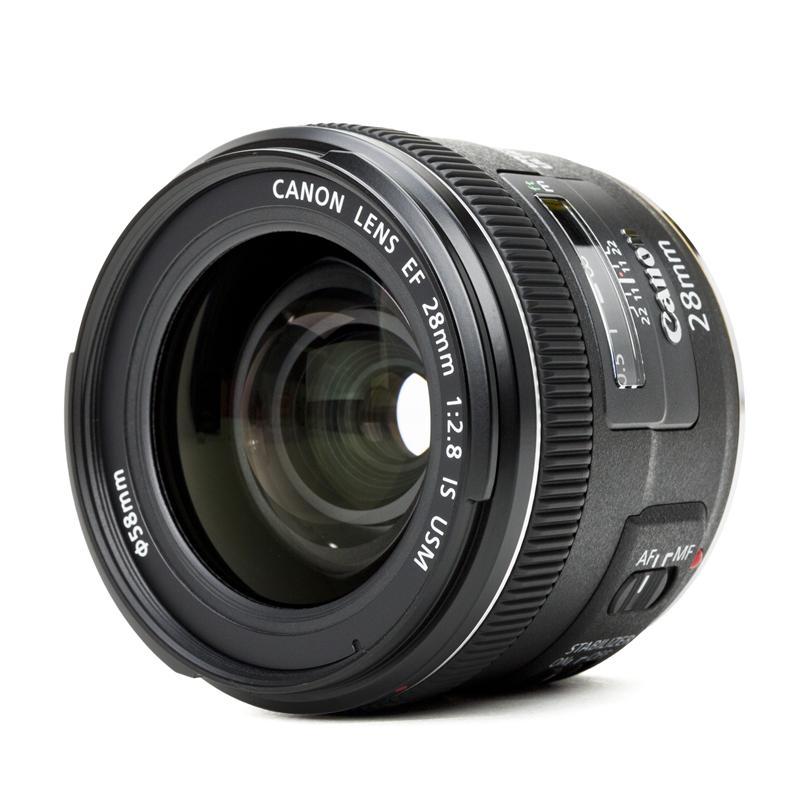 Canon ef 28 mm f2 8 is usm objektiv festbrennweite weitwinkel ebay