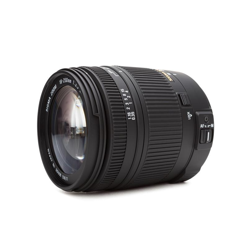 Sigma 18 250 mm f3.5 6.3 DC HSM Macro pour Sony Zoom objectif Zoom