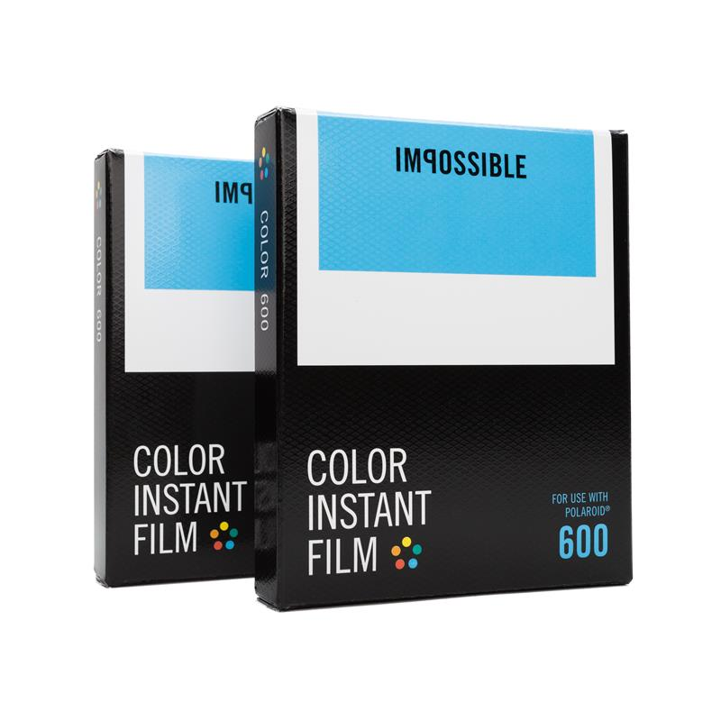 2x impossible pour polaroid 600 couleur pellicule couleur. Black Bedroom Furniture Sets. Home Design Ideas