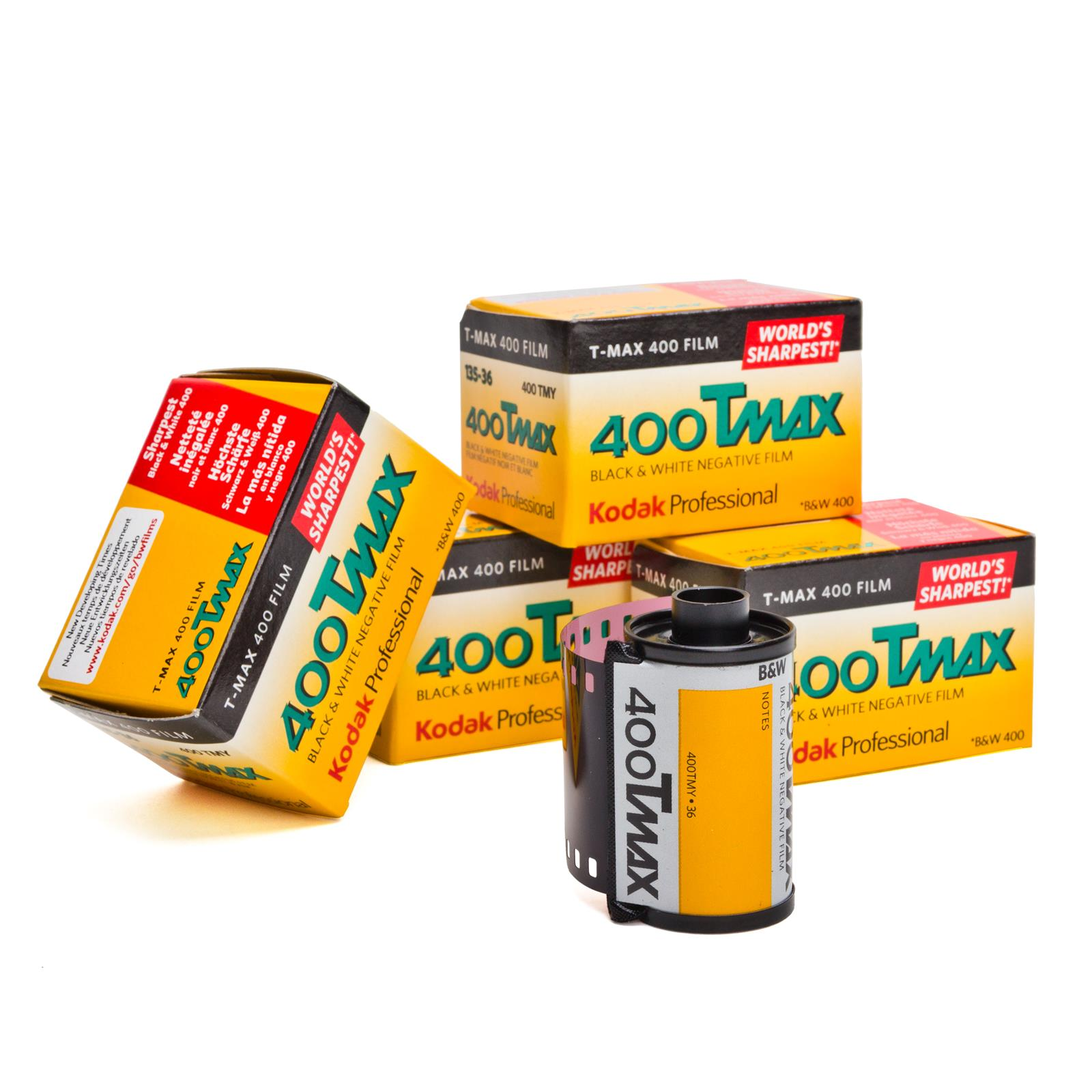 5-x-Kodak-T-Max-Tmax-400-135-36-Pelicula-miniatura-Negro-Pelicula-blanca-B