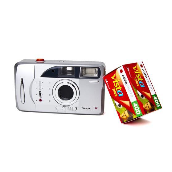 Agfa-Analogkamera-Set-FF-Fotoapparat-Analog-Kleinbild-Kamera