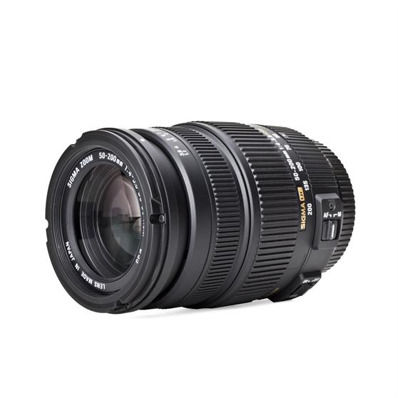 Sigma-Objektiv-4-5-6-50-200-mm-OS-HSM-Pentax-50-200-Gewinde-55mm