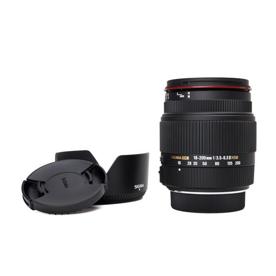 Sigma-18-200mm-Reiseobjektiv-Pentax-F3-5-6-3-II-DC-HSM-Objektiv-18-200-Zoom