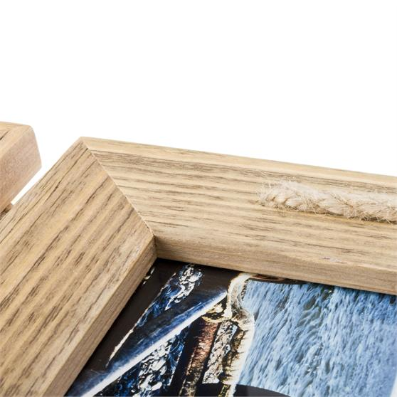 Bilderrahmen Holz Mein Landhaus Toskana ~ Mein Landhaus Holzrahmen Bilderrahmen 3er Set Holz Vintage natur hell