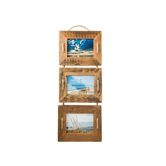 Bilderrahmen Holz Mein Landhaus Toskana ~ Mein Landhaus Holzrahmen Bilderrahmen 3er Set Holz Vintage natur